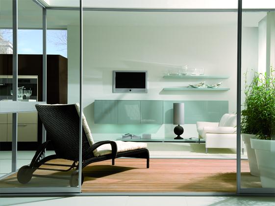 Divisori ambienti interni vetreria cittadellese - Divisori per ambienti interni ...
